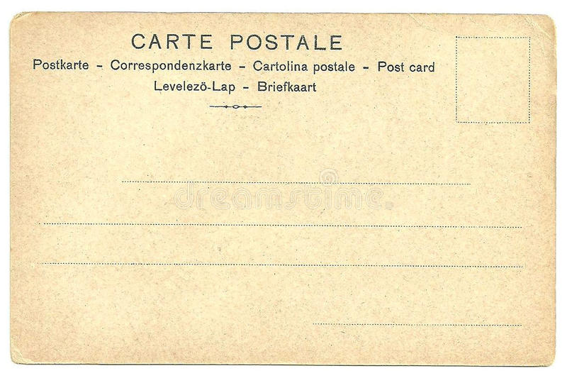 Para trás do cartão da placa do vintage imagem de stock