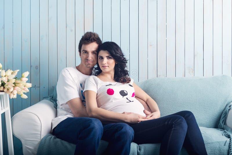para w ciąży zdjęcie stock