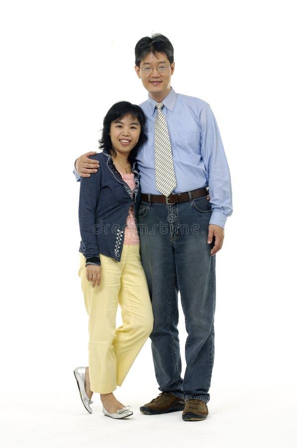 Para w miłości. zdjęcia stock