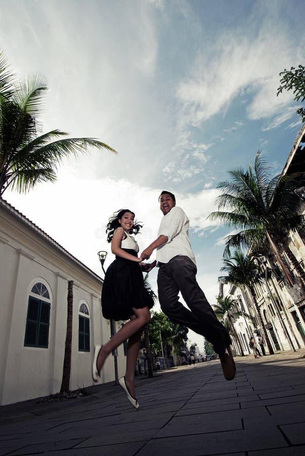 Para W miłości obrazy royalty free