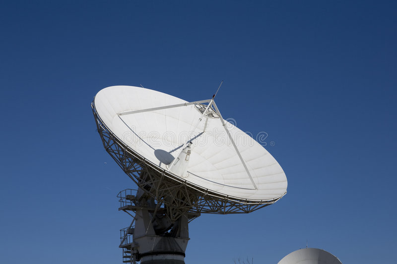 Parabolic Antenna Royalty Free Stock Photo