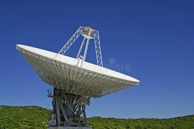 Parabolische Antenne stockfotografie