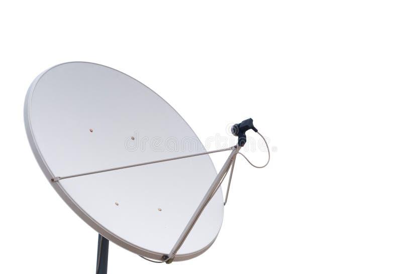 Parabolische communicatie antenne royalty-vrije stock afbeeldingen