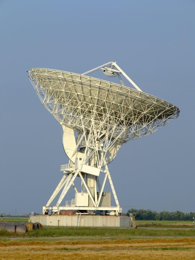 parabolisk antenn royaltyfri fotografi