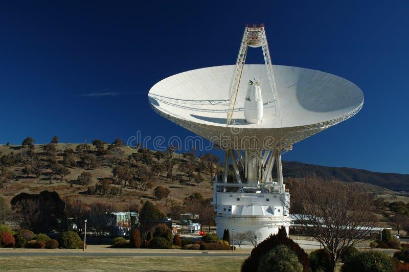 Paraboloïde d'antenne par radio images stock