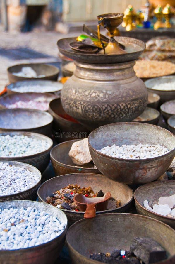 Paraboloïdes de cuivre sur le marché photo libre de droits