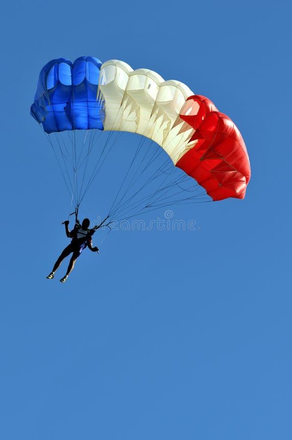 Paracaídas imagenes de archivo