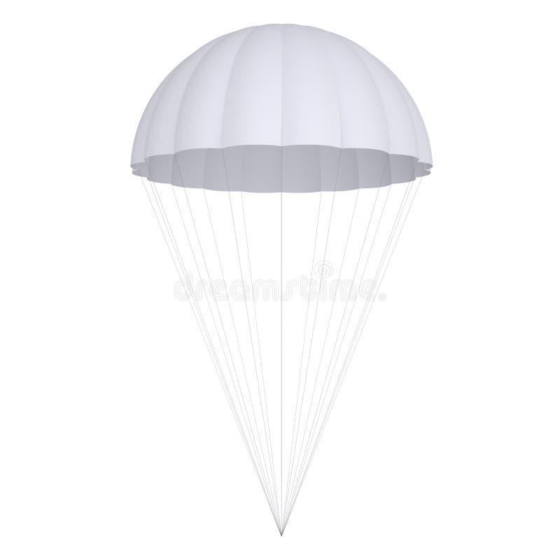 Paracaídas blanco fotos de archivo libres de regalías