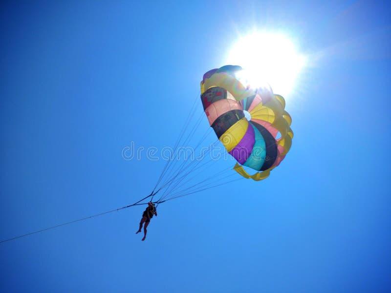 Paracaídas Sun fotos de archivo