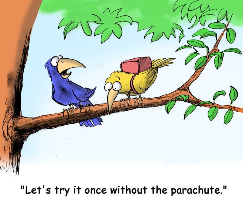 Paracadute royalty illustrazione gratis