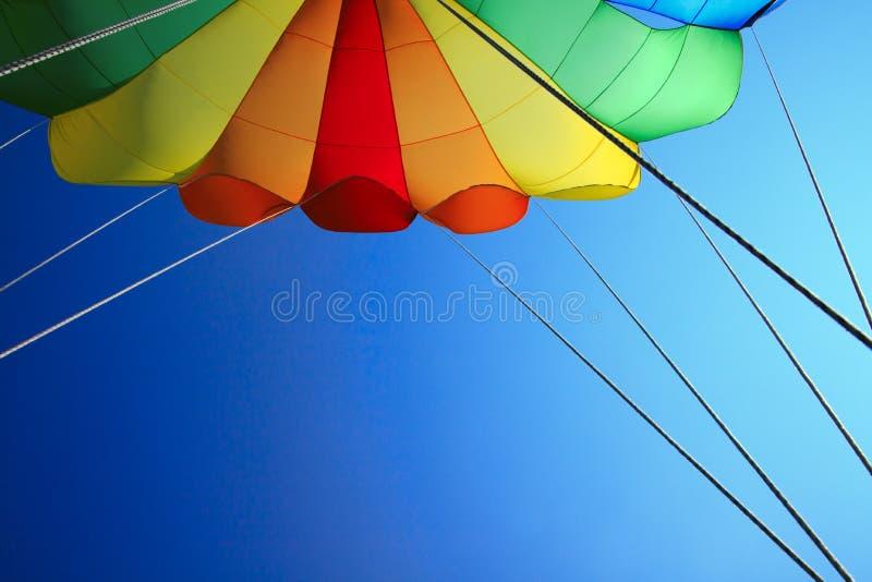Paracadute fotografie stock libere da diritti