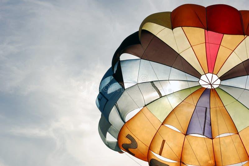 Paracadute immagine stock