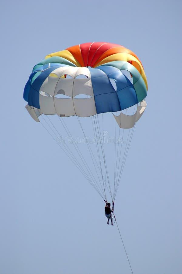 Paracadute rimorchiati. fotografie stock libere da diritti