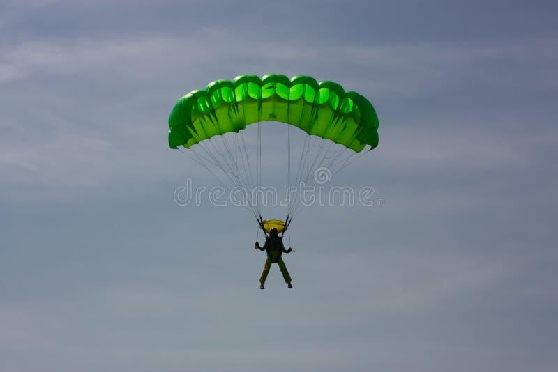 Paracadutista fotografie stock libere da diritti