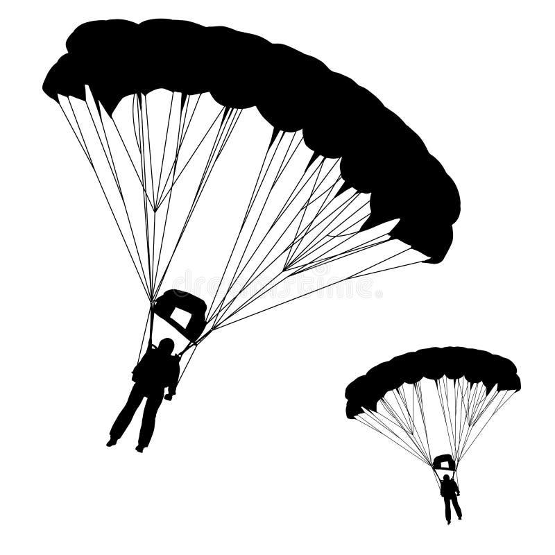 Paracadutista illustrazione vettoriale