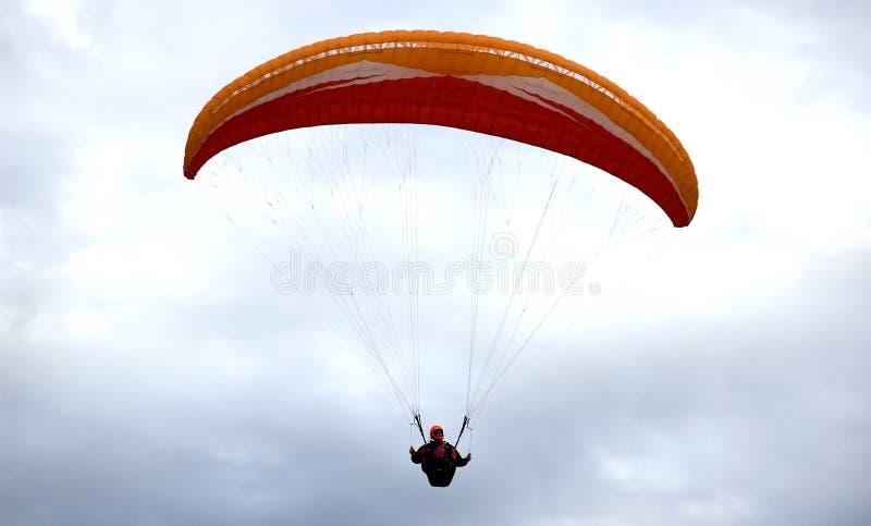 Paracaidista foto de archivo libre de regalías