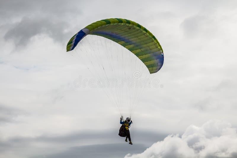 paracaidista fotografía de archivo