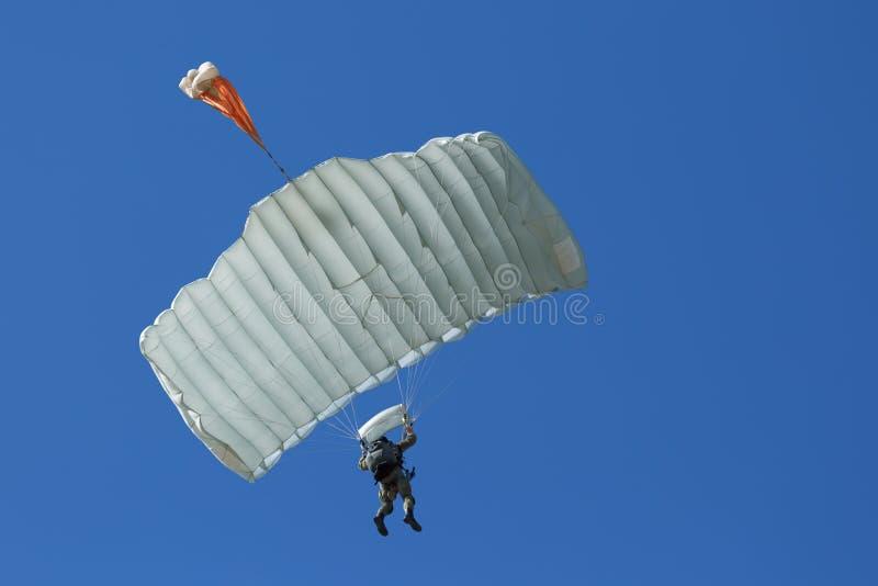 paracaidista imagen de archivo libre de regalías