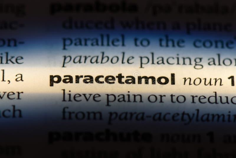 paracetamol lizenzfreie stockfotos