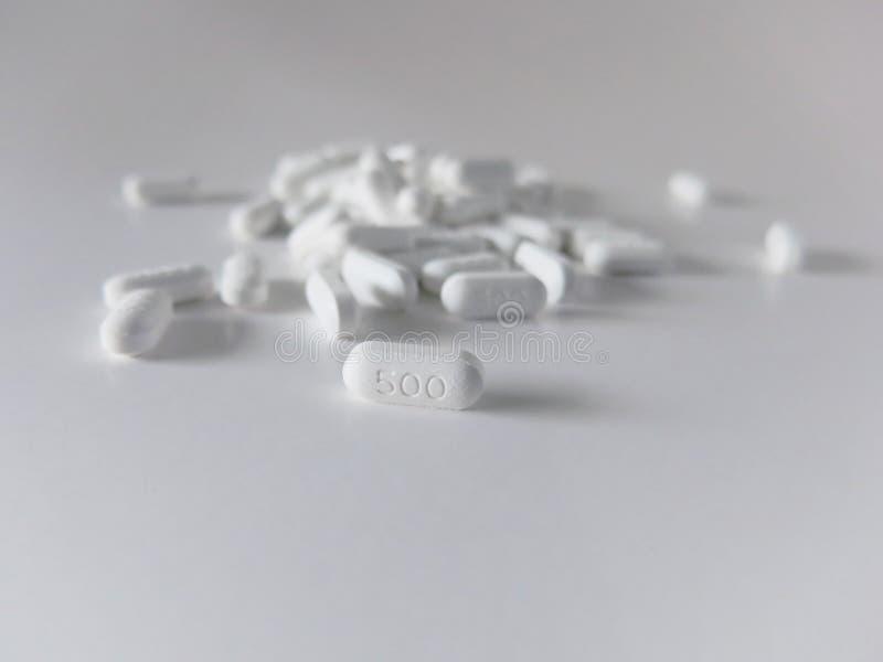 Paracetamol 500 lizenzfreie stockfotografie