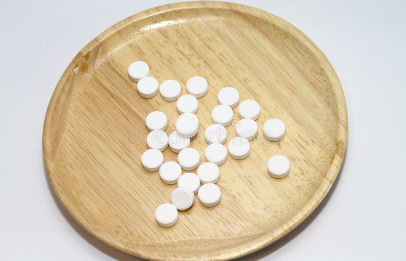 Paracetamol für gesunde Ergänzungen stockfotografie