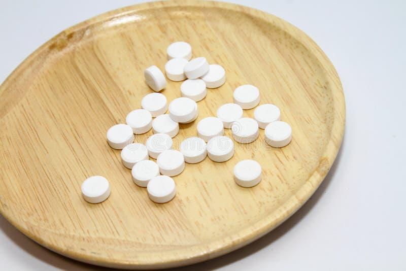 Paracetamol für gesunde Ergänzungen lizenzfreies stockfoto