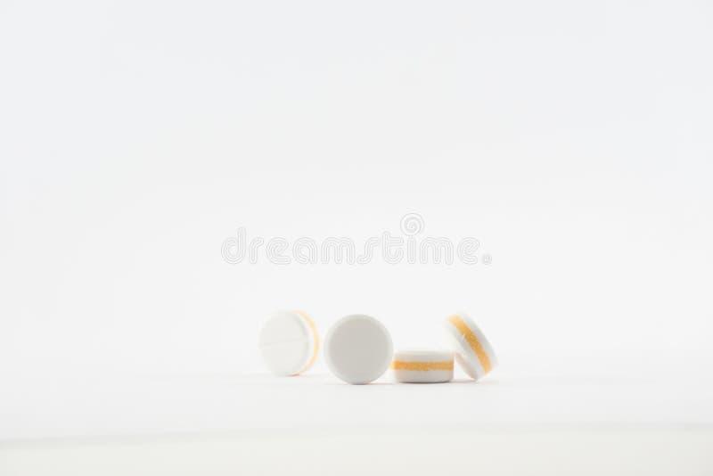 Paracetamol für Schmerzlinderung lizenzfreie stockfotos