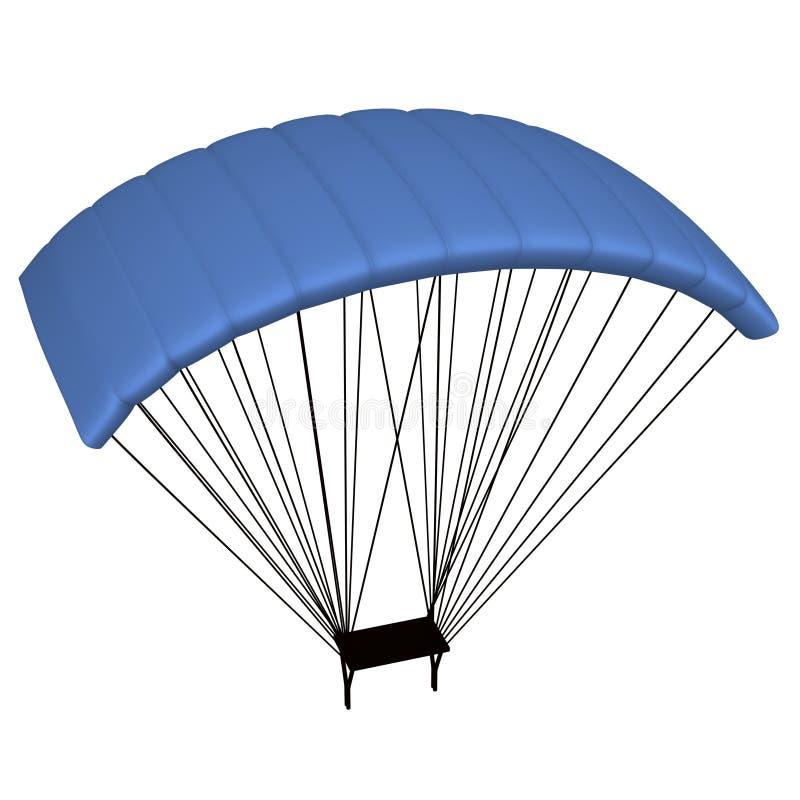 Parachute royalty free illustration