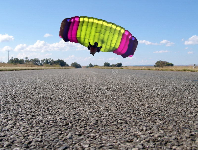 Parachute photographie stock libre de droits