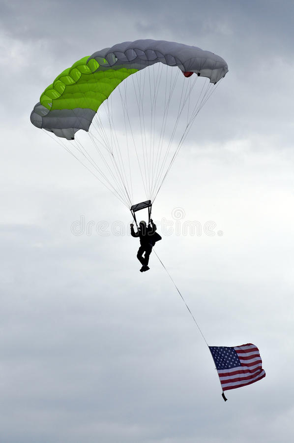 Parachute images libres de droits
