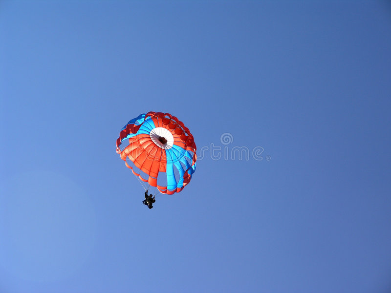 Parachute images stock