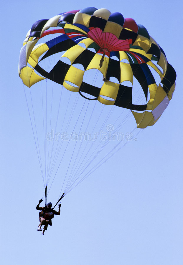Download Parachute stock image. Image of parachuting, high, adventure - 3027133