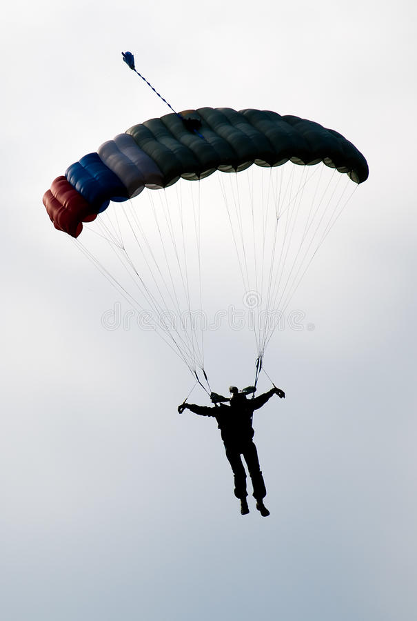 Free Parachute Silhouette Stock Photography - 20691332