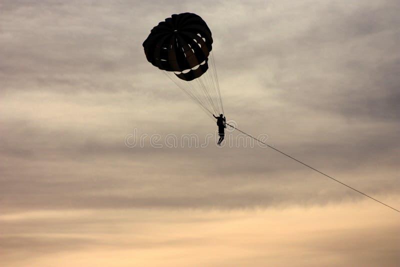 Parachute, Sky, Parasailing, Parachuting stock photography