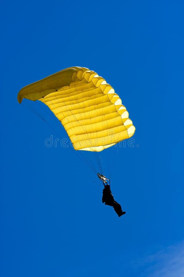 Parachuter 免版税库存图片