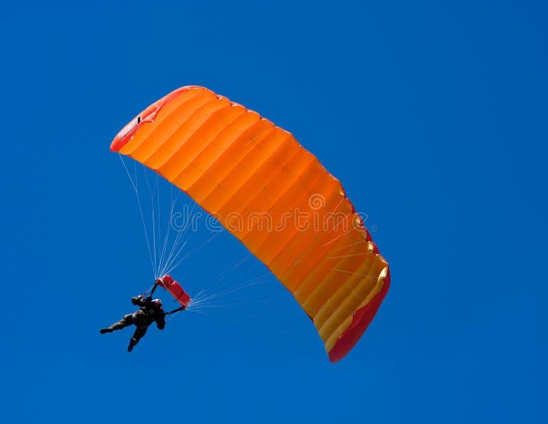 Parachuter stockbild