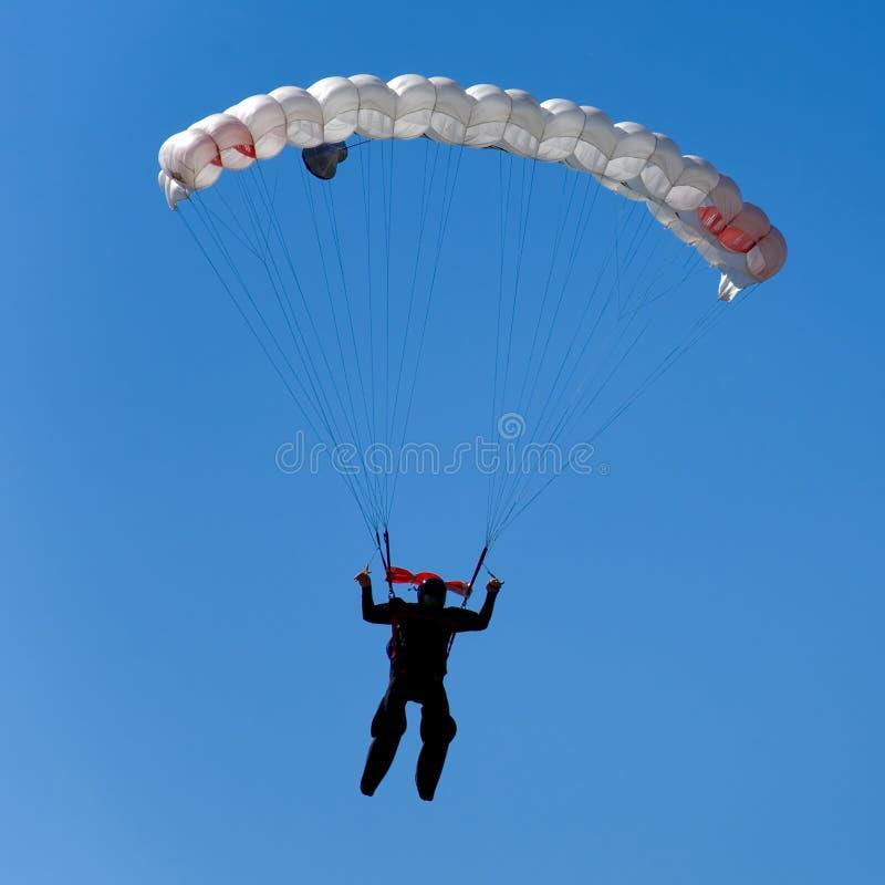 Parachuter foto de archivo libre de regalías