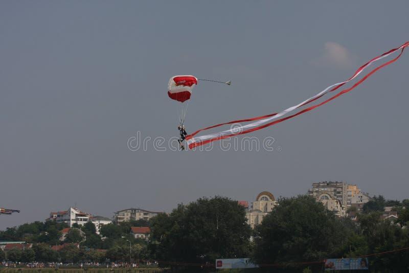 Parachuter lizenzfreies stockfoto