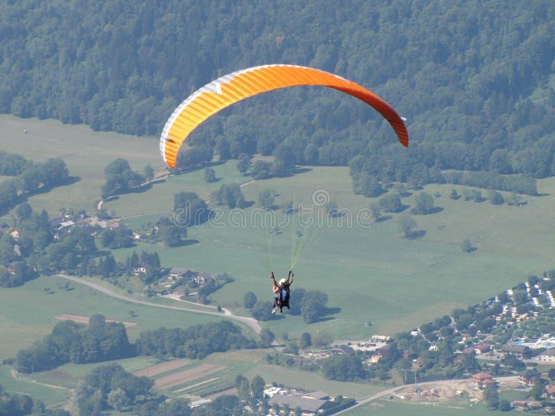 Parachutisme photos libres de droits