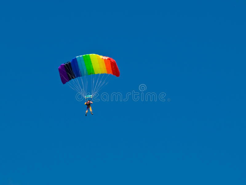 Download Parachutist stock photo. Image of paratrooper, falling - 10766590