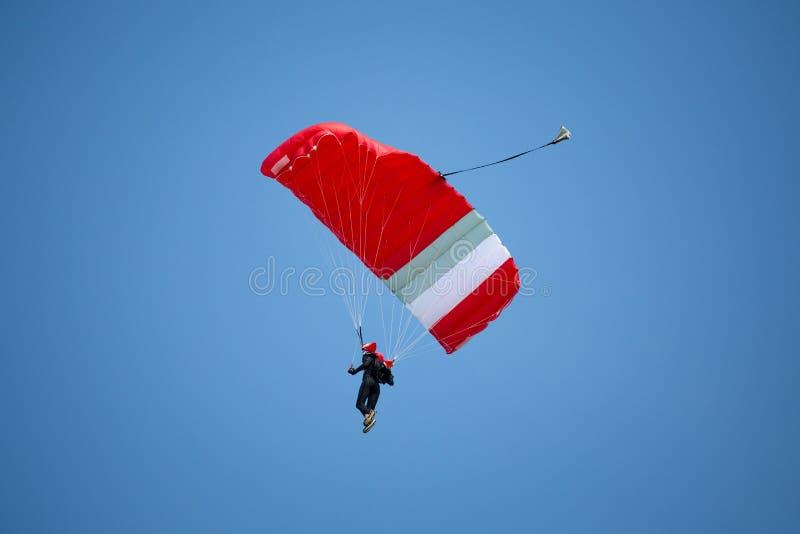 Parachutist obrazy stock