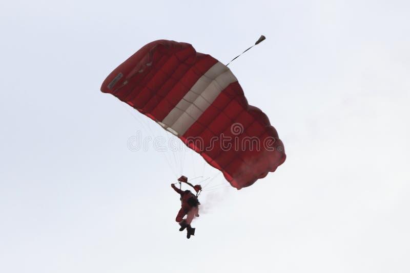 Parachutist 2 стоковые изображения