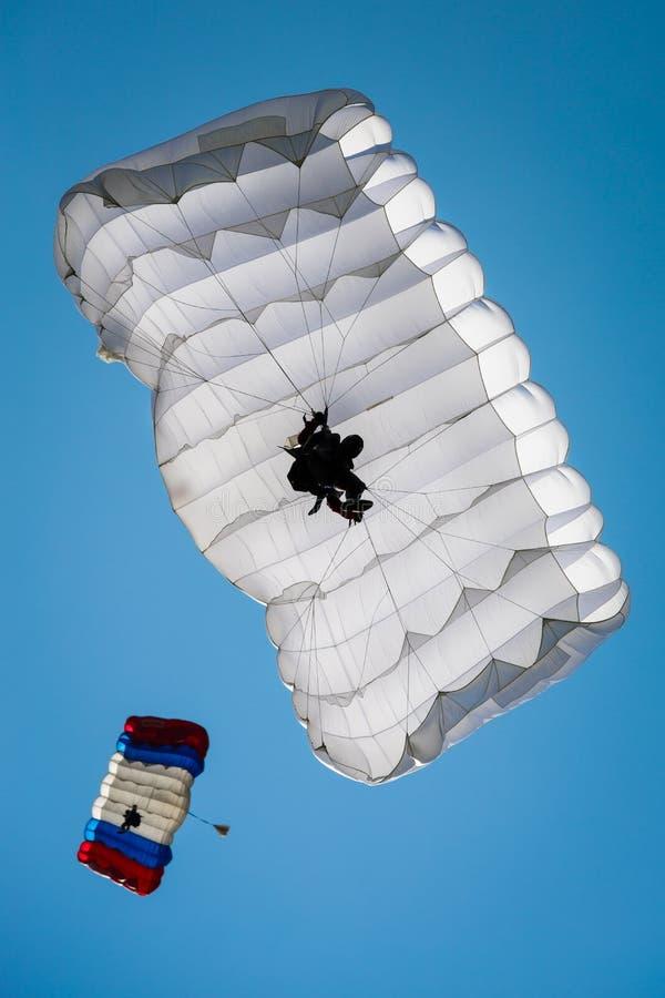 parachutist stock fotografie