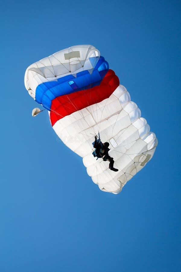 parachutist stock foto's