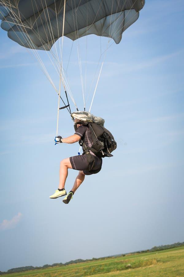 parachutist stock foto