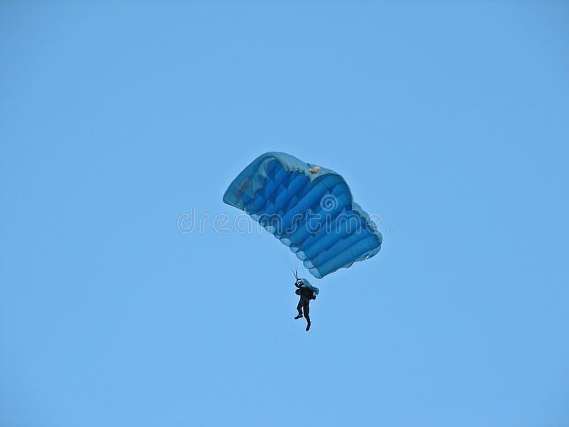 Parachutist imagem de stock royalty free