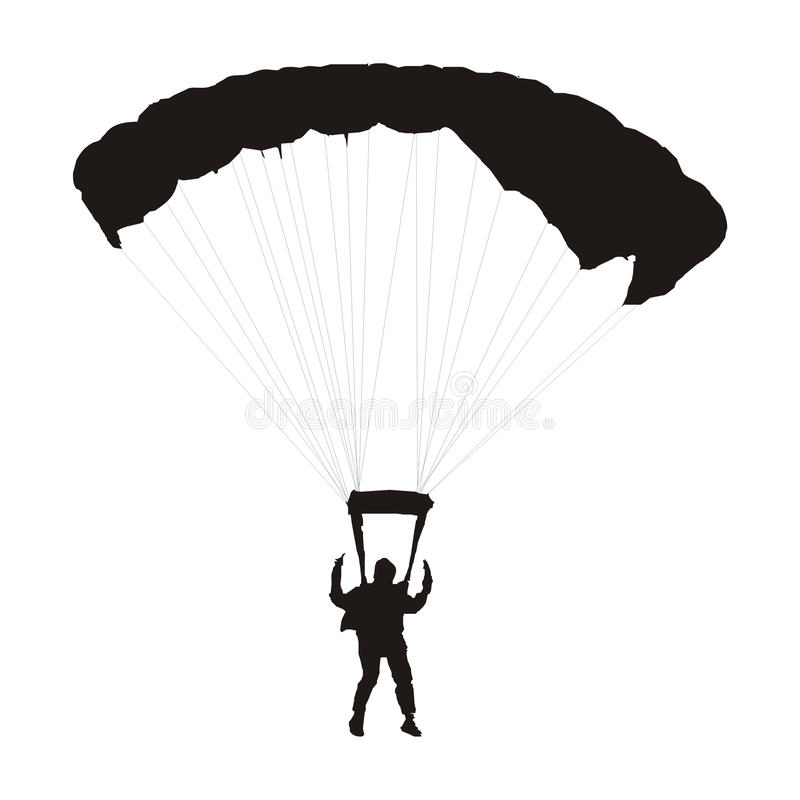Free Parachutist Royalty Free Stock Photos - 9399748