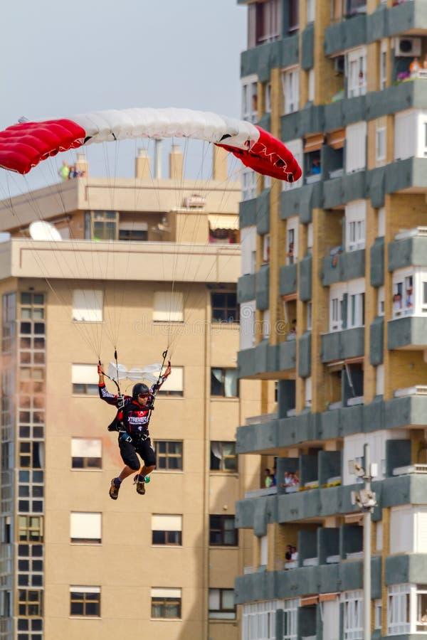 Parachutist Of The X-Treme Flight Team Editorial Image