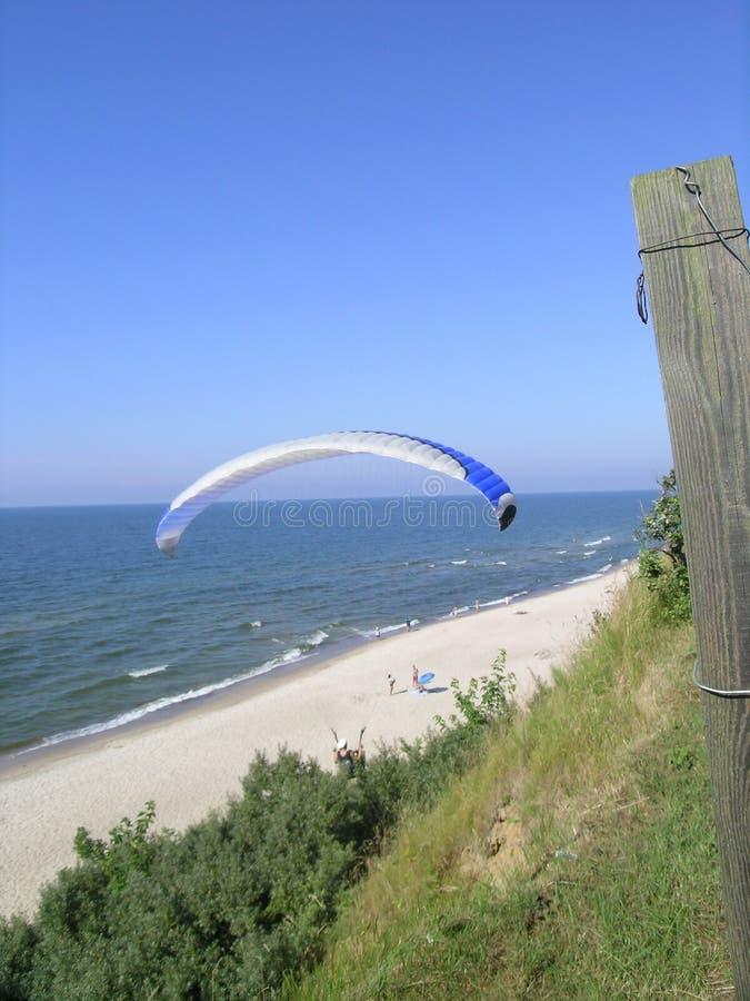 Parachutiste photographie stock