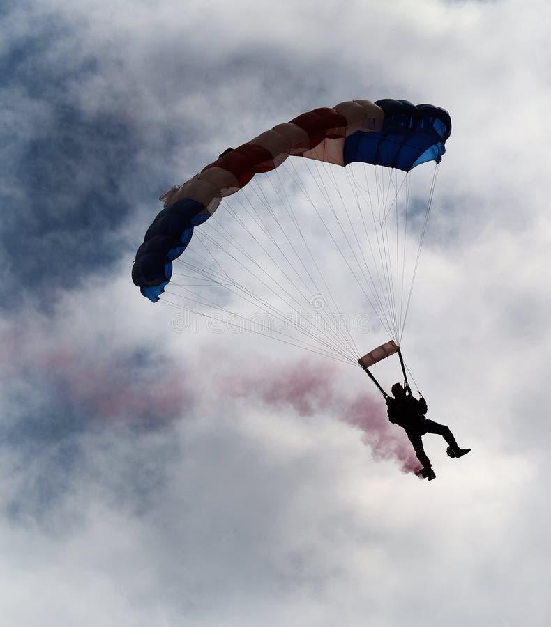Parachutiste freefal de RAF Falcon photographie stock